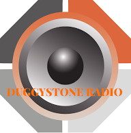 duggystone radio logo with title